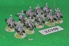 20mm WW1 / czech - for russian civil war 10 figures - cav (26764)