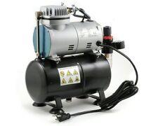 Airbrush Mini Oil-Less Air-Compressor with Tank (Single Piston)