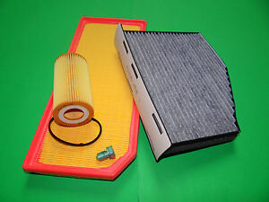 kl. Filterset Filtersatz Inspektionspaket Seat Leon 2.0 TFSI (147kW/200PS)