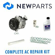 Full AC A/C Repair Kit with New Compressor & Clutch fits Subaru Forester 03-06