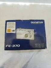 Olympus FE-370 Digital Camera- Silver 8.0 MP 5X Zoom, 2.7 LCD Monitor