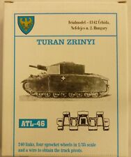 Friulmodel 1/35 Turan Zrinyi  Metal Track Link & Sprocket Wheel Set ATL-46