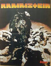 ⭐⭐⭐  Rammstein ⭐⭐⭐ Lacuna Coil  ⭐⭐ 1 Poster / Plakat  ⭐⭐  45 cm x 58 cm ⭐⭐⭐