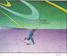 MOEBIUS ART COLOR LITHOGRAPH JEAN GIRAUD HAND SIGNED COA PAGE 39
