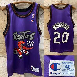 Vintage Champion Toronto Raptors Stoudamire Jersey 20 Size 40