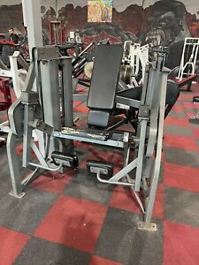 Gym Equipment Hammer Strength MTS Powder coated' Dualstac Leg Extension