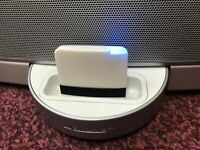 Bluetooth Adaptor For Bose SoundDock Series 1 , 2,10 & Portable (white)