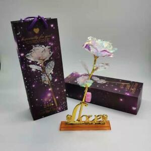 Crystal Rose Mother's Day Mother's day artificial gift Love Light-Up