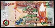 ZAMBIA - P47c - 20000 KWACHA  - 2006 PAPER ISSUE - UNC