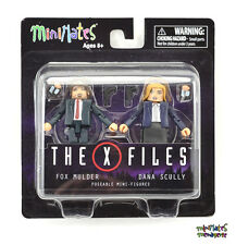 The X-Files Minimates Fox Mulder & Dana Scully 2-Pack