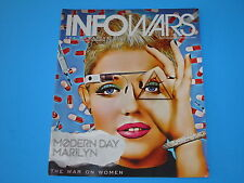 Alex Jones Infowars Magazine April  2014 Vol 2 # 8 Conspiracies War on Women
