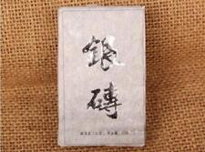 Chinese Tea Mini Brick Tea Wooden Stop Silver Brick Pu'er Tea Brick Pu'er Tea