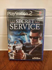 Secret Service Playstation 2 PS2 PAL Game * BRAND NEW & SEALED *