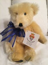"""Gund Canterbury Bears """"Buttons"""" Limited Edition 283/350 Signed Teddy England"""