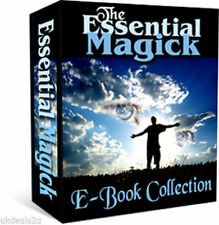 JOBLOT MAGIC SPELLS WICCA WHITE MAGICK WITCHCRAFT TAROT ASTROLOGY EBOOKS ON CD