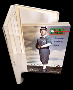 RBI Baseball Card Price Guide January 1992 Premiere Edition Ronald Reagan Cover