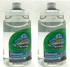 2 Scrubbing Bubbles Automatic Shower Cleaner Refill  34 oz Refreshing Spa Glade