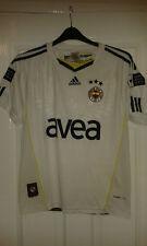 Mens Football Shirt - Fenerbahce - Turkey - Adidas - Away 2010-2011 - White - S