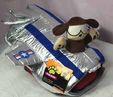 Puppy Dog Outfit Costume Flying Jet Plane SMALL MEDIUM