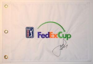JORDAN SPIETH Signed PGA Logo FEDEX CUP Embroidered GOLF FLAG