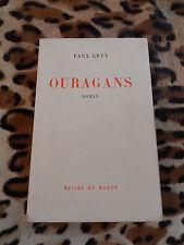 LEVY Paul : Ouragans - Milieu du monde, 1959