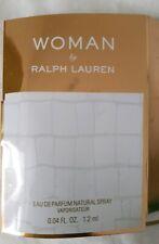 NEW Ralph Lauren Woman EDP Eau De Parfum Fragrance 1.2ml Travel Size UK SELLER
