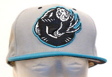 Mitchell & Ness Vancouver Grizzlies Gray & Turquoise Baseball Hat Cap
