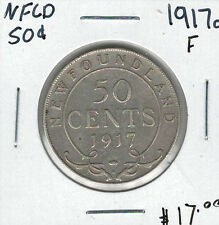 Canada Newfoundland NFLD 1917c 50 Cents F