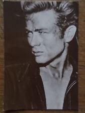 James Dean Original 1980 Wizard & Genius AG Postcard Real B/W Photo unposted