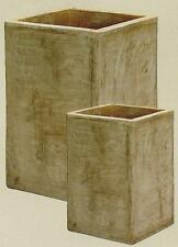 quadratische pflanzk rbe und k bel aus terrakotta g nstig. Black Bedroom Furniture Sets. Home Design Ideas