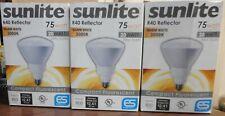 3 Pack Sunlite R40 Reflector 20W Warm White Compact Fluorescent Light Bulb *Imp*
