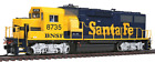HO Scale EMD GP60 Locomotive w/Sound & DCC - BNSF #8735 - Walthers #920-41801