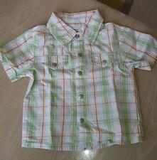Lot de 2 chemises manches courtes 12 mois