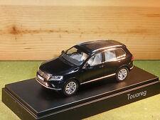Volkswagen Touareg 2015 in Black 1/43rd scale HERPA