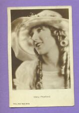 MARY PICKFORD # 1501/2 WITH HAT VINTAGE PHOTO PC. PUBLISHER GERMANY 4852