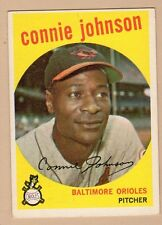 1959 TOPPS BB #21 CONNIE JOHNSON/ORIOLES EX