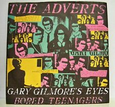 The Adverts - Gary Gilmours Eyes 45rpm single