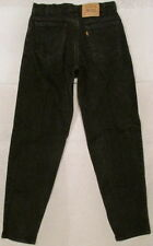 MENS BLACK LEVIS 560 LOOSE FIT TAPERED LEGS ORANGE LABEL JEANS MADE USA 33 X 34