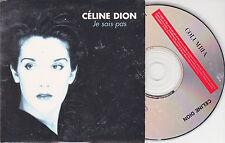 CD CARTONNE CARDSLEEVE CELINE DION 2T JE SAIS PAS (ECRIT PAR JJ GOLDMAN) 1995