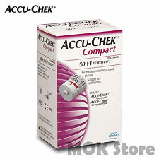 Accu-Chek Compact Test Strips 51 Sheet For Accu Chek Compact Plus EXP_04/2018