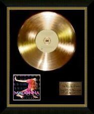 Madonna / Ltd Edition CD Gold Disc / Record / Confessions on a Dancefloor