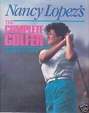 Nancy Lopez's signed The Complete Golfer 1st Ed 1987 NF