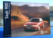New Rare Original Saab 900 Handbook Owners Manual 1998