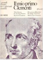 Die Meine Ersten/My First / Mein Erster Clementi - Musiknoten
