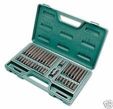KAMASA Large Set Star Torx Spline Hex Keys Bit Tool Set 3/8 + 1/2 Drive Set