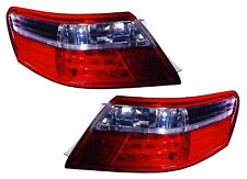 2007 2008- 2010 Toyota Camry Tail Light Assembly Pair with on body LED Hybrid