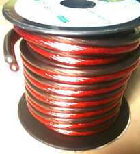 12 GAUGE 25 FEET SPEAKER WIRE O2FREE ULTRA FLEXIBLE BEST QUALITY NEW SW12GA25
