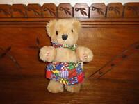 Antique 1960s Shanghai Doll Factory China Mohair Bear