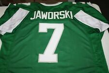 RON JAWORSKI #7 SEWN STITCHED HOME THROWBACK JERSEY SIZE XLG ALL PRO QB SB XV