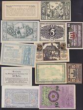 GERMAN NOTGELD 16 BANKNOTES LOT G